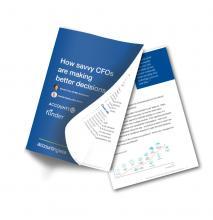 Savvy CFO report from AccountsIQ