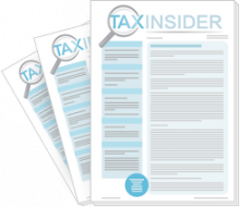 Tax Insider 3 free issue trial