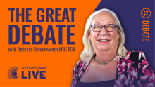 The Great Debate with Rebecca Benneyworth MBE