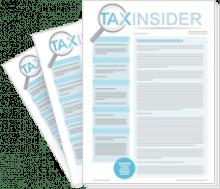 Tax Insider 3 free issue trial