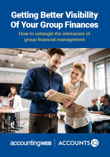 AccountsIQ group finances