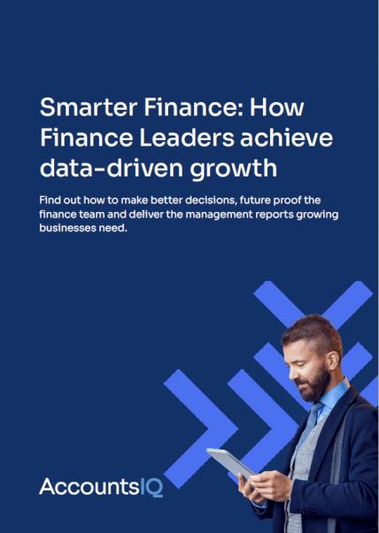 AccountsIQ Smarter Finance Guide