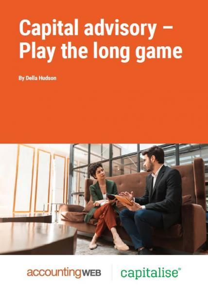 AW Capitalise Capital advisory Play the long game