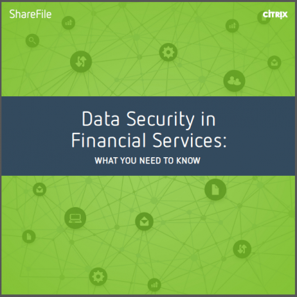 Data Security in Financial Service Guide Cover