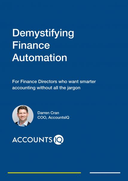 AccountsIQ Demystifying Finance Automation guide for FD