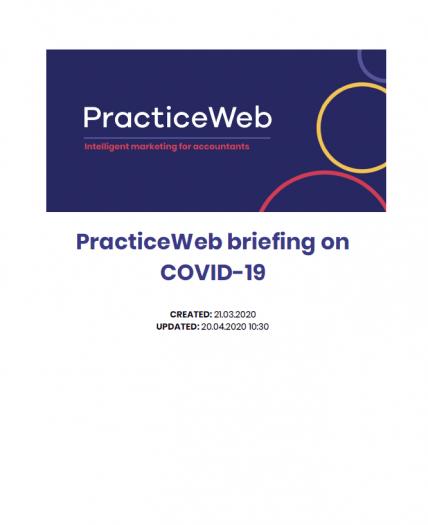 PracticeWEB Covid19 Briefing Paper