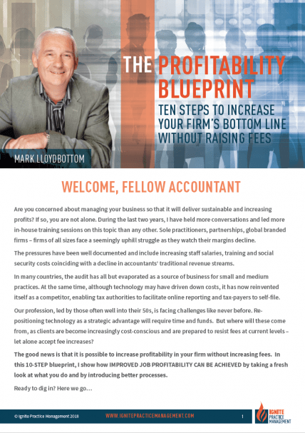 Profitability Blueprint Cover