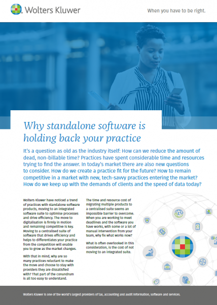 standalone software holding your practice back