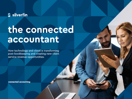 The connected accountant cover