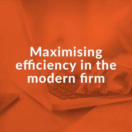 Maximising efficiency cover