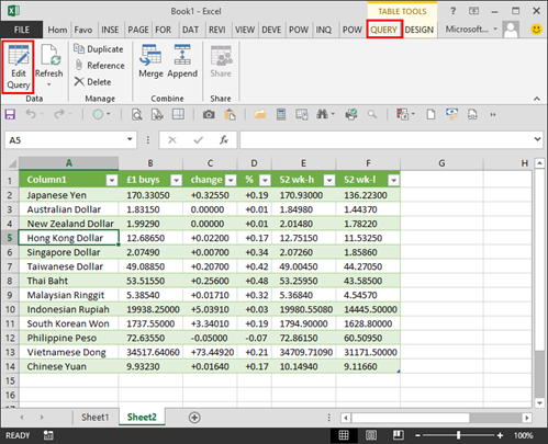 Working with accounts data in Excel: Power Query | AccountingWEB