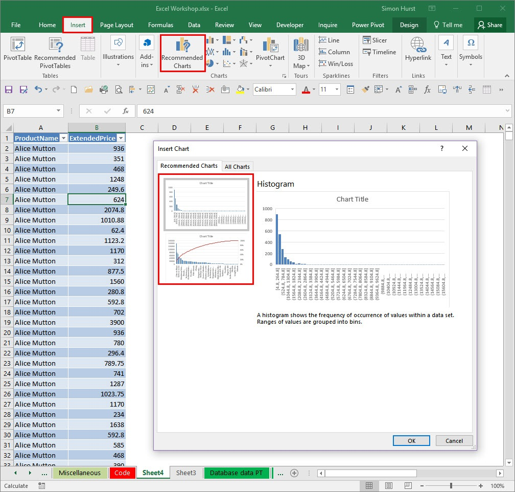 Excel 2016 Explore The New Chart Types Accountingweb